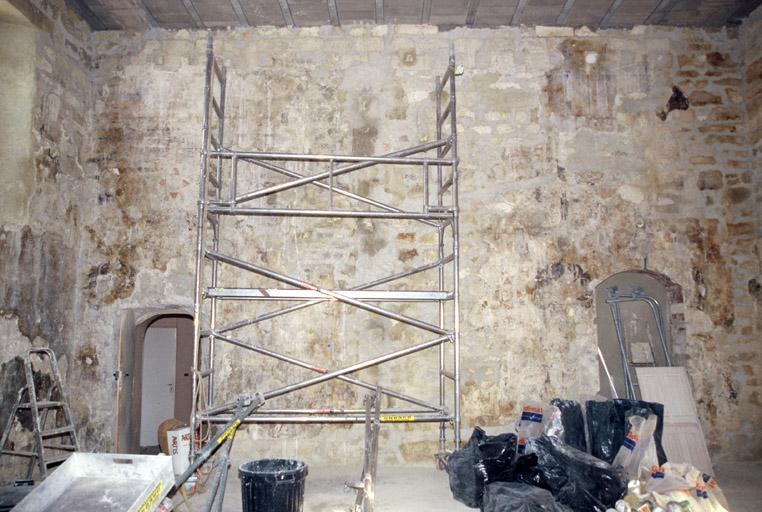 Palais de la Commune, ancienne Vice-Gérence, travaux