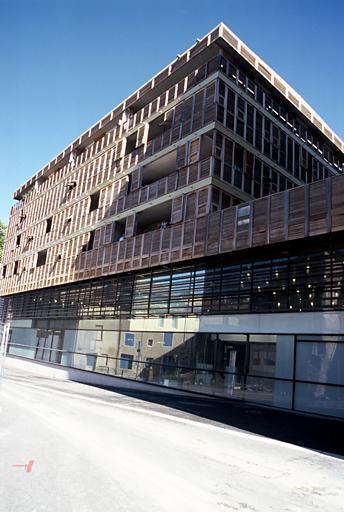 Immeuble dit médiathèque
