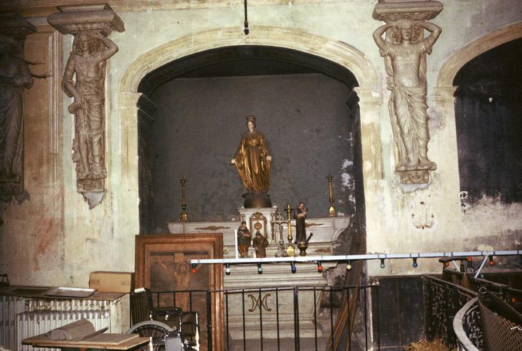 Chapelle de l'ancien hôpital des Ursulines, ancien couvent des Ursulines