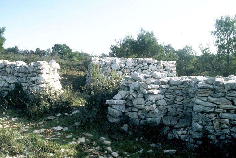 Mur défensif dit mur de la peste