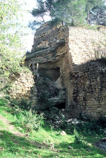 Château, vestiges