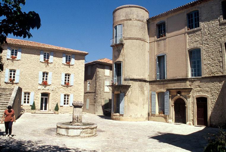 Château (ancien), presbytère de l'église paroissiale