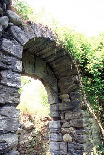 Chapelle castrale de l'ancien château, vestiges