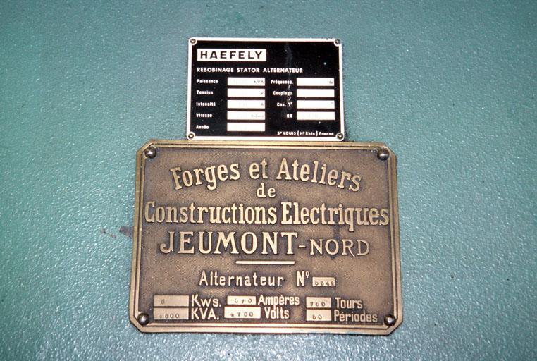 Centrale hydroélectrique des Claux