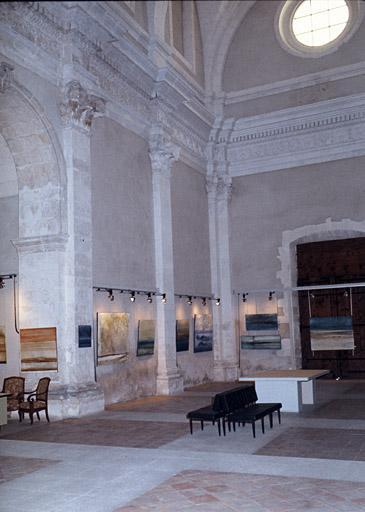 Chapelle Saint-Benoît (ancienne) ou chapelle du grand Couvent actuellement bibliothèque et salle d'exposition