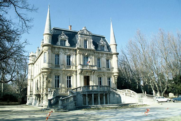 Château de Val-Seille actuellement mairie