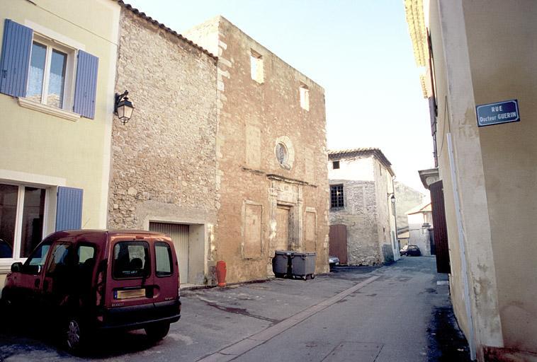 Rue, chapelle (ancienne)