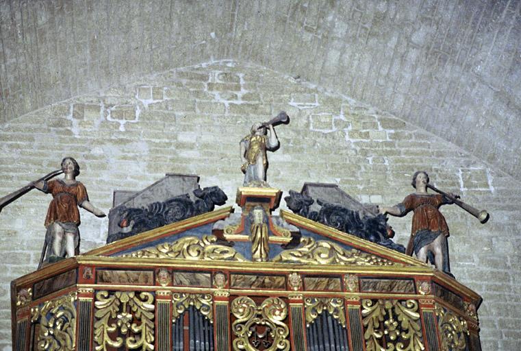 Orgue de tribune : buffet d'orgue