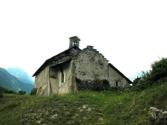 église dite chapelle Saint-Hippolyte (ancienne)