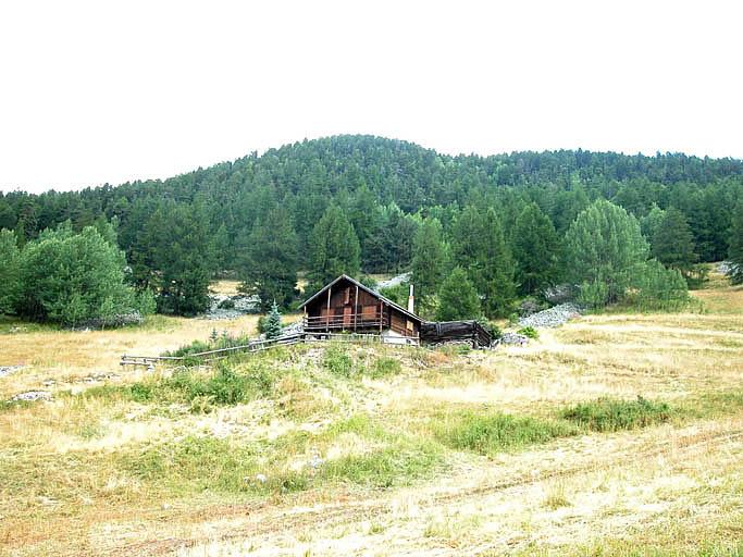 Maisons dite châlets d'alpage