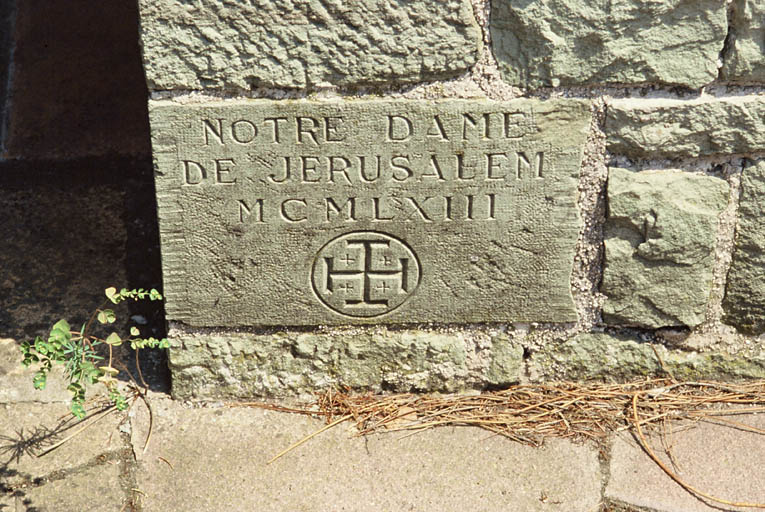 Église dite chapelle Notre-Dame de Jérusalem, dite chapelle Cocteau
