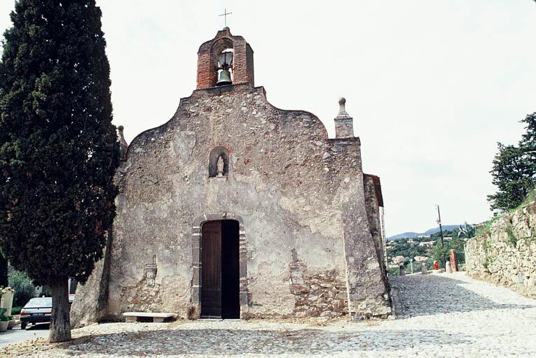 Église dite chapelle des Pénitents Blancs dite aussi Notre-Dame des Sept-Douleurs