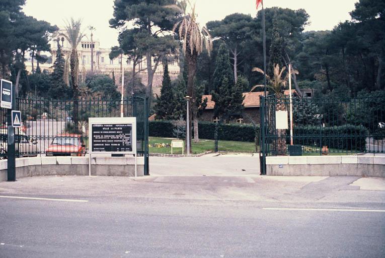 Demeure dite domaine de San Salvadour : château, hôtel, annexes, ancien sanatorium, actuellement établissement hospitalier