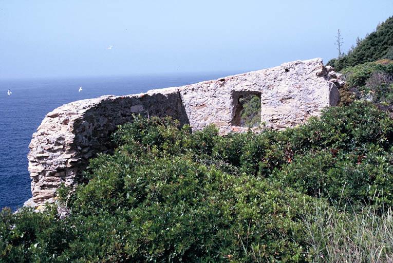 fort du Grand Langoustier (ancien)