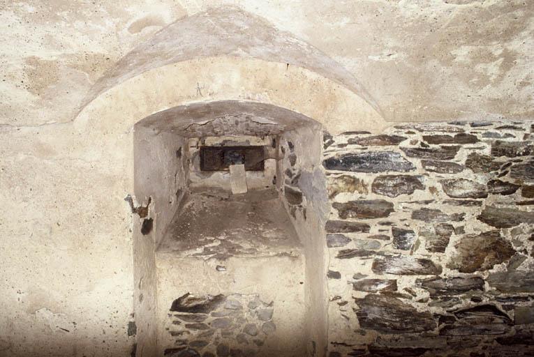 Batterie de Galéasson (ancienne), ouvrage de Galéasson