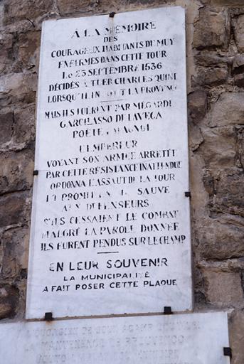 Tour dite Tour de Charles Quint et ancien castelet