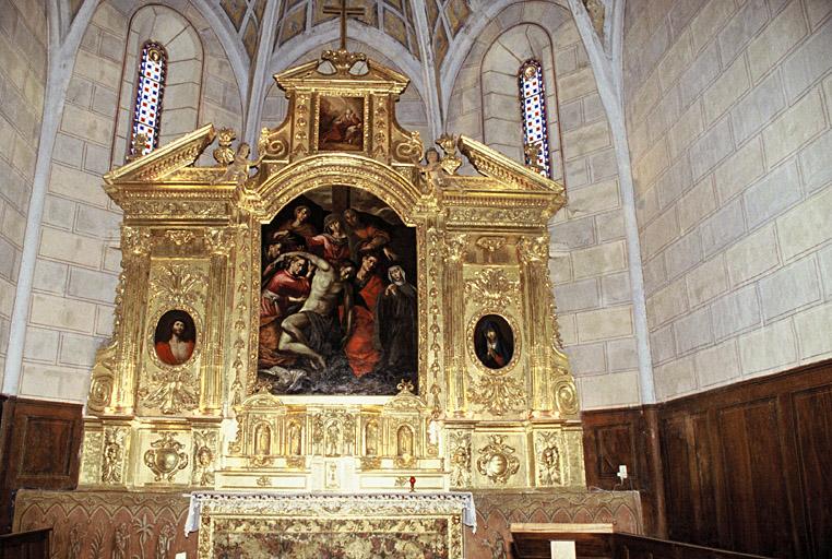 église paroissiale Notre-Dame et Saint-Martin, ancienne abbaye Saint-Martin