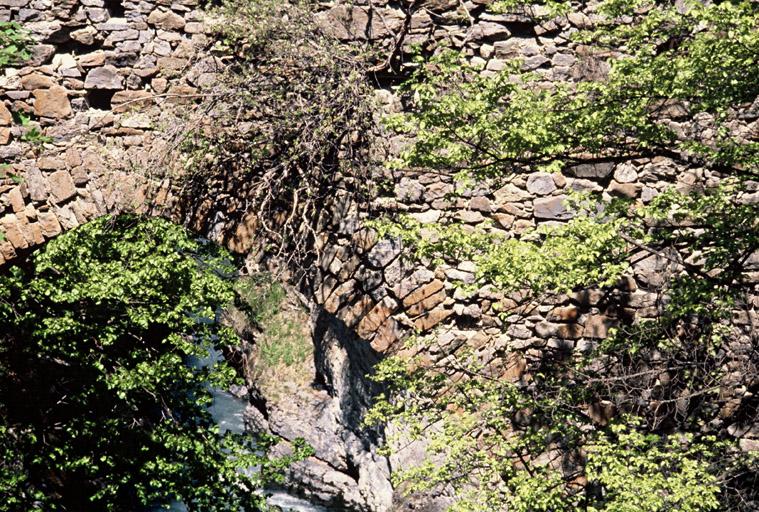 pont du Lauzet (ancien) dit pont romain
