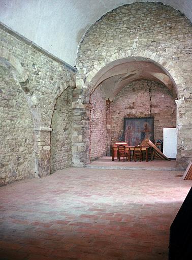 prieuré Saint-Donat (ancien), église dite chapelle Saint-Donat-le-Bas