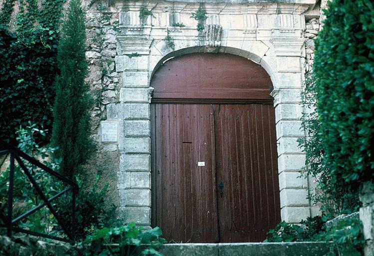 maison dite hôtel Montjallard, maison du peintre Courbine