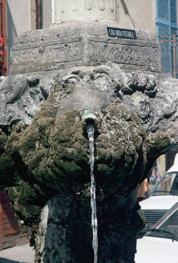 fontaine dite Grande Fontaine
