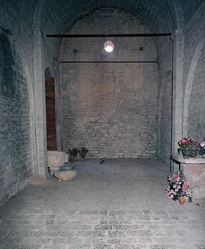chapelle Notre-Dame de Valvert, église du cimetière