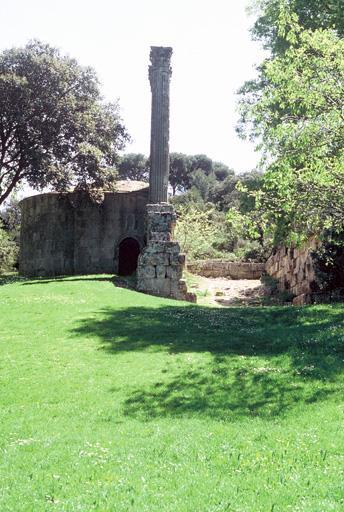 Temple païen dit temple romain de la Maison-Basse (Temple de château-Bas ou ancienne chapelle Saint-Césaire)