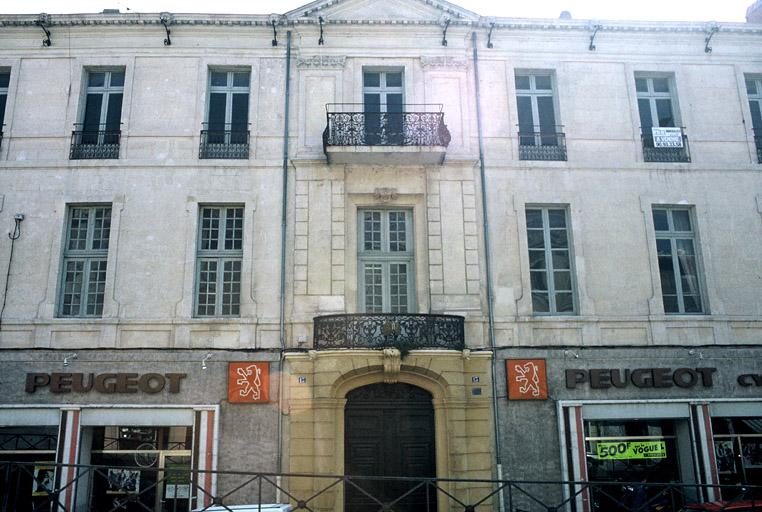 Hôtel Quiqueran de Beaujeu, hôtel de Lestang-Parade
