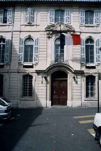 Hôtel de Courtois (ancien), sous-Préfecture (actuellement)