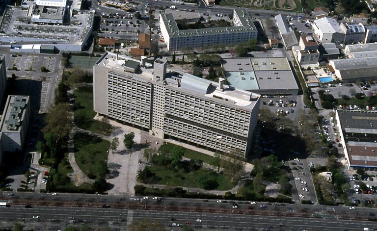 Unité d'habitation dite Cité radieuse