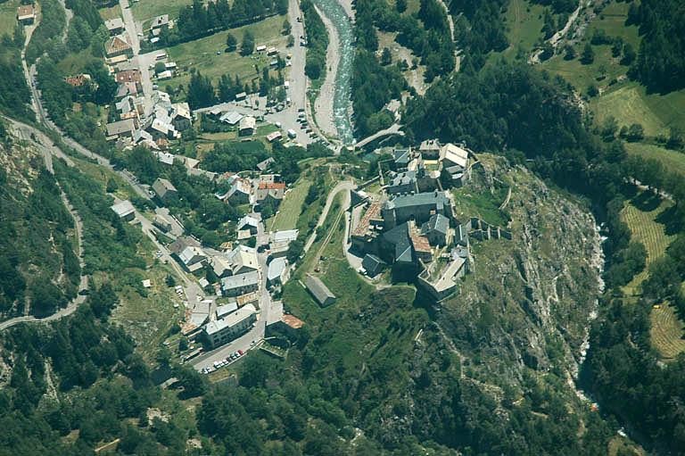 Ville, fort de Château-Queyras
