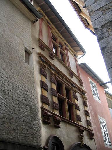 Village, maison dite de Lesdiguières