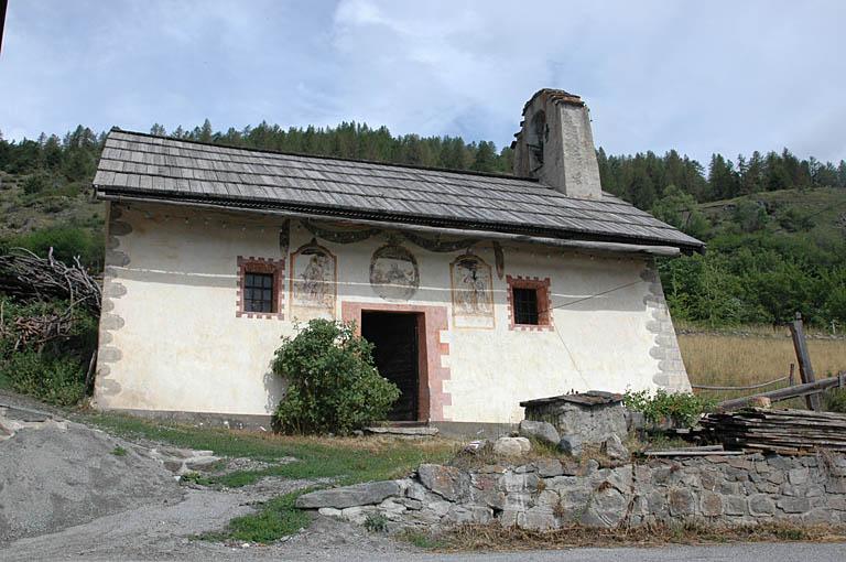 église dite chapelle Saint-Pons (ancienne), actuellement Saint-Sixte