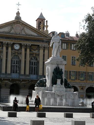 Monument commémoratif à Garibaldi