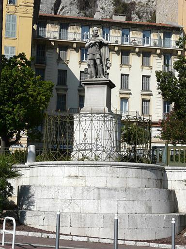 Monument commémoratif au roi Charles Félix