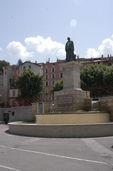 Monument à Pierre Gassendi