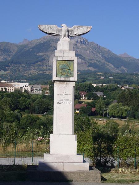 Monument commémoratif du passage de Napoléon