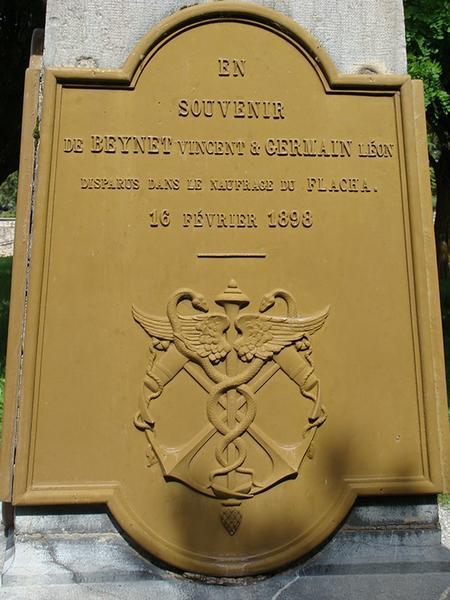 Monument aux morts de la guerre de 1870 ; monument aux Mobiles