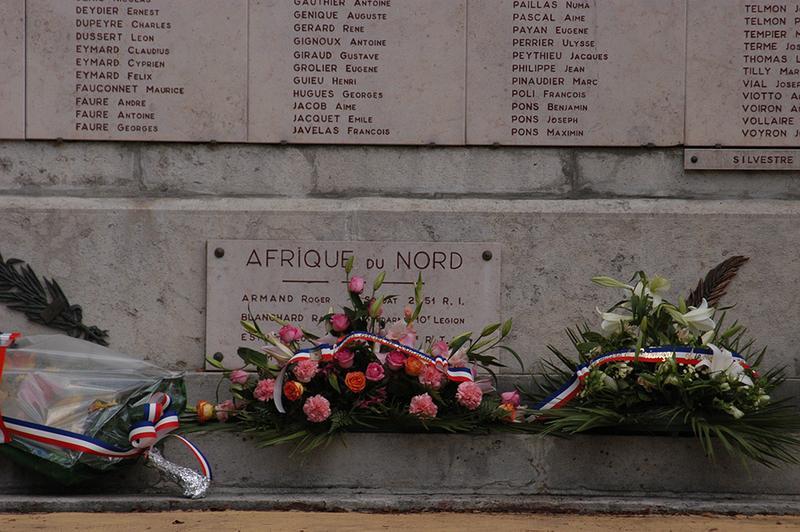 Monument aux morts de la guerre de 1914-1918 et 1939-1945