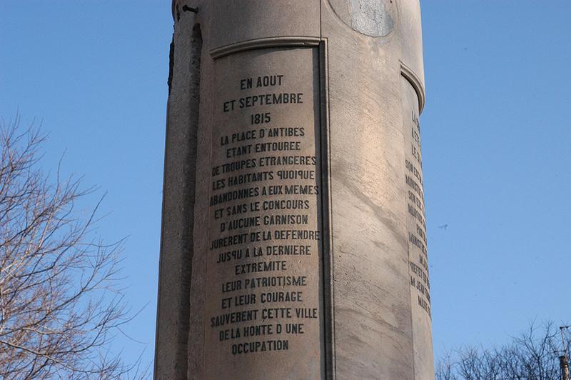 Monument commémoratif à Louis XVIII