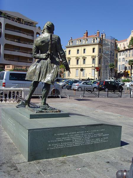Monument commémoratif à l'amiral de Grasse