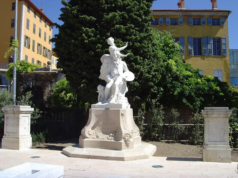 Monument commémoratif à Jean-Honoré Fragonard