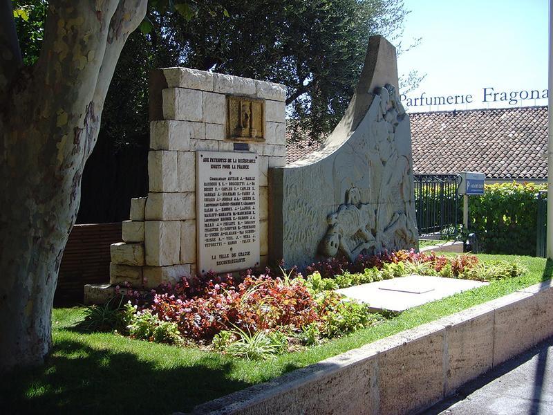 Monument des martyrs de la Résistance
