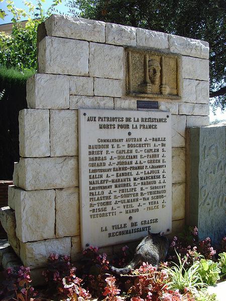 Monument aux martyrs de la Résistance
