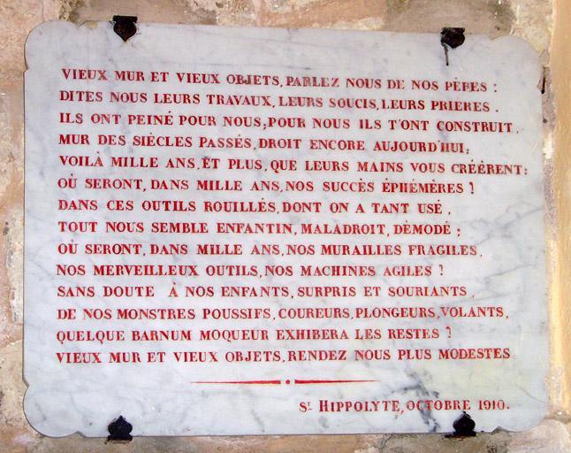 Demeure dite domaine de Saint-Hippolyte