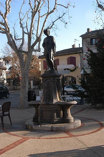 Fontaine de l'éphèbe
