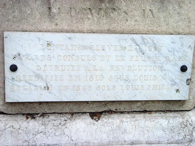 Monument à Saint-Louis, fontaine Saint-Louis