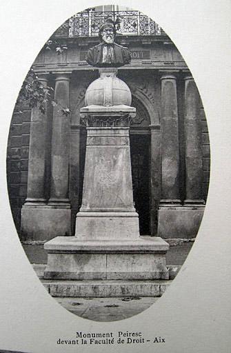 Monument à Nicolas Claude Fabri de Peiresc