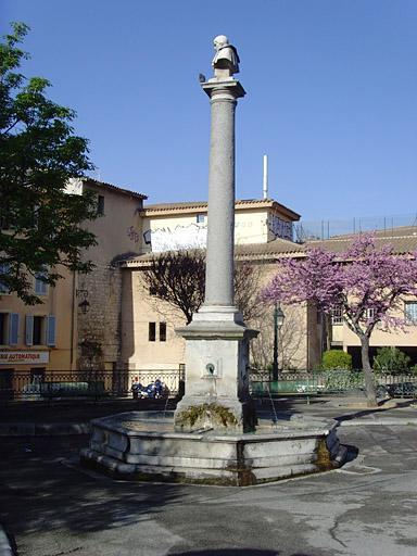 Monument à Granet, fontaine Bellegarde