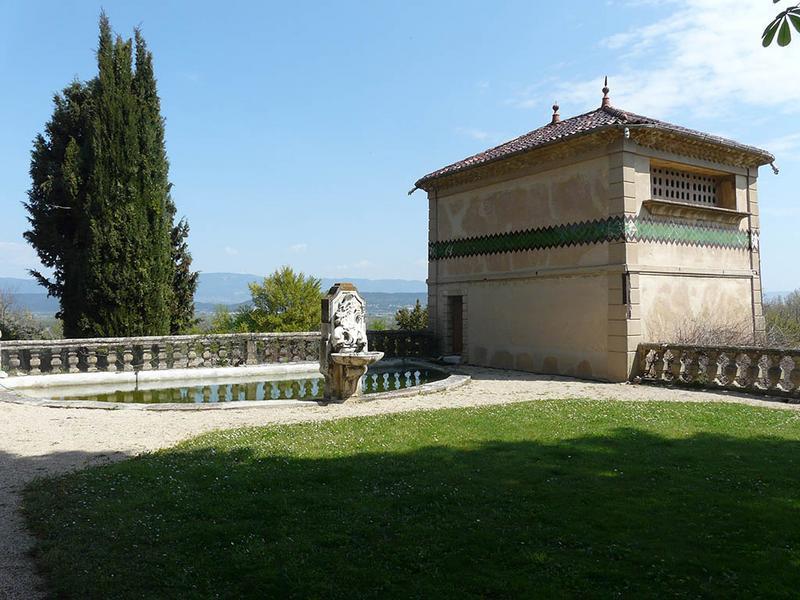 Château d'Arnajon et son parc, domaine d'Arnajon